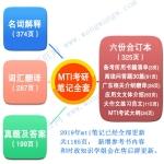 2019年广东外语外贸大学MTI考研 翻译硕士英语笔译口译考研笔记
